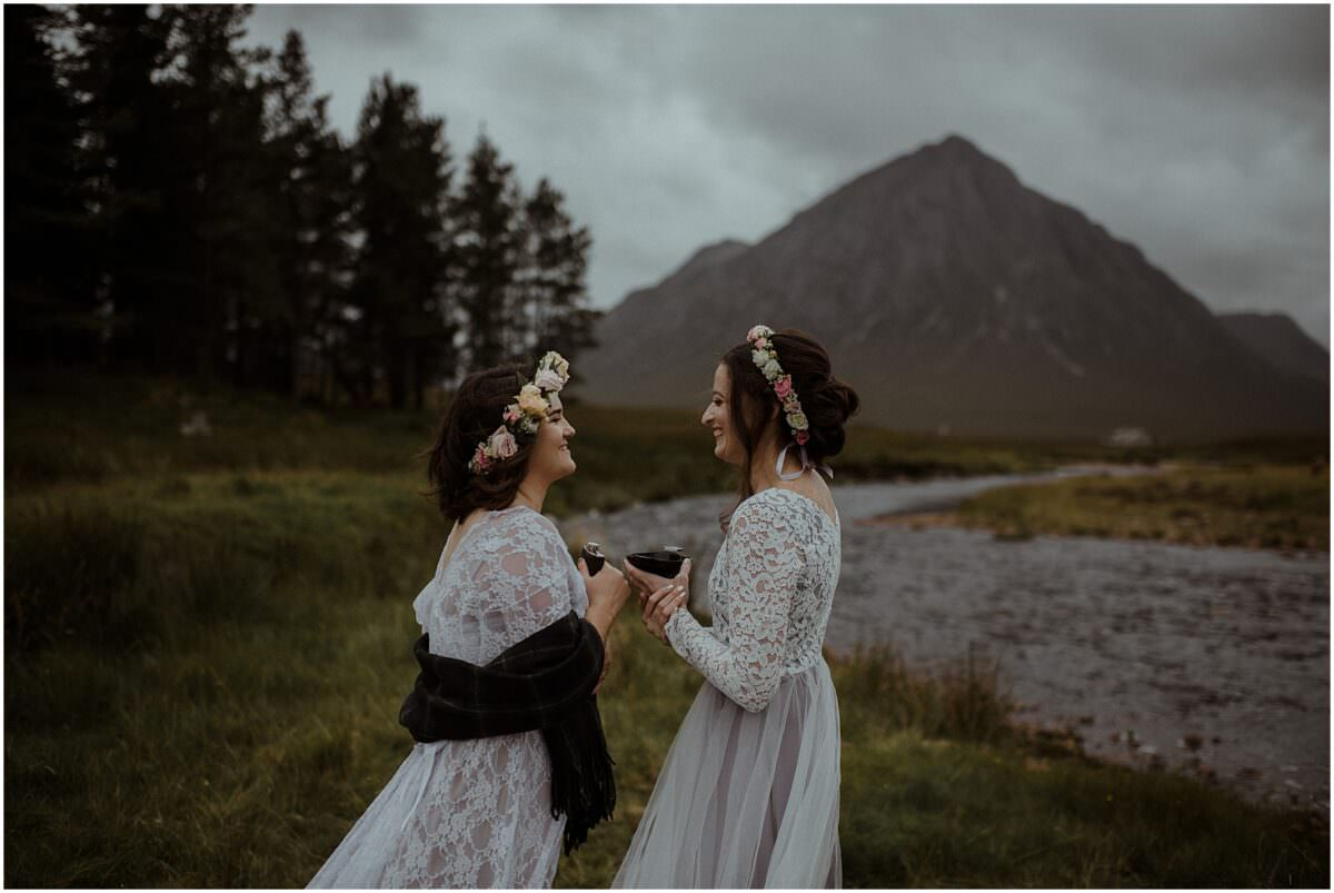 Lesbian wedding in Scotland - Scottish wedding photographer