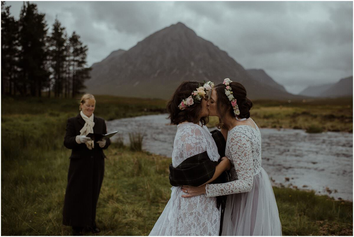 Quaich ceremony - Scottish highlands wedding