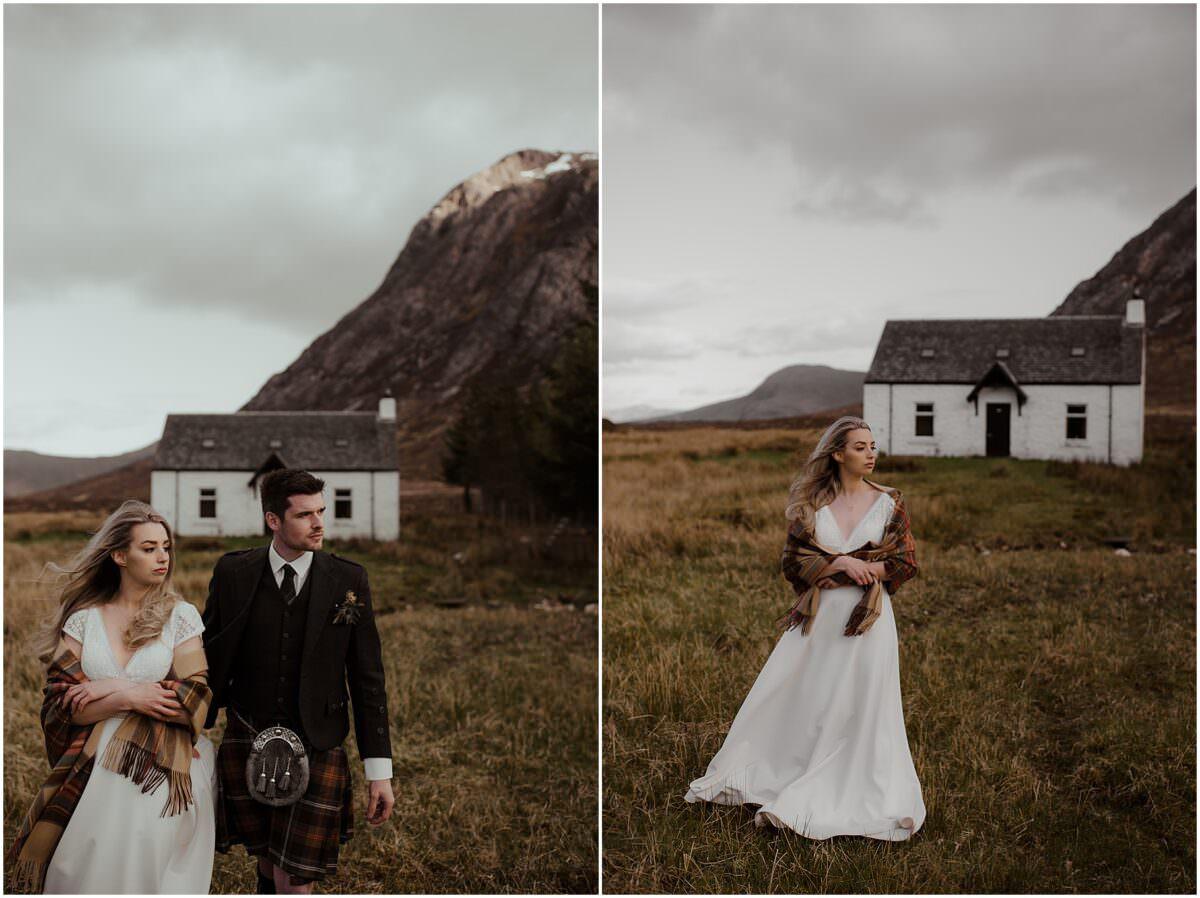 Scotland elopement in Glencoe - Glencoe wedding photographer