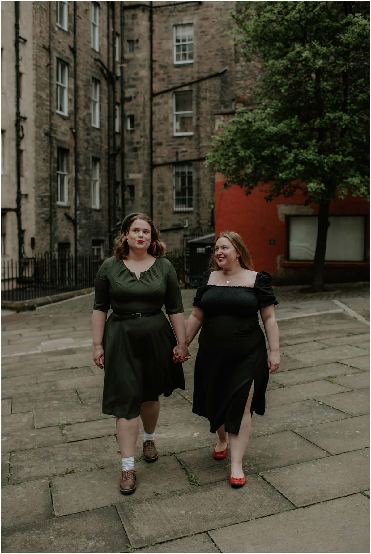 Same sex engagement photographer Scotland - same-sex wedding photographer Scotland