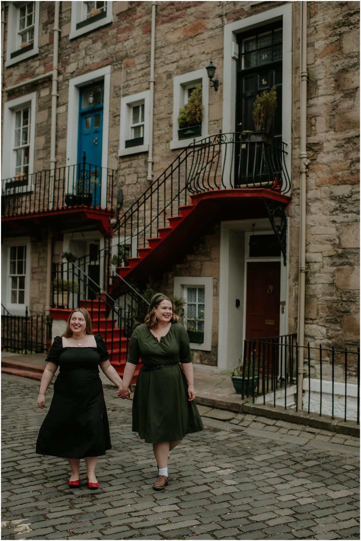 Same sex engagement photos Scotland - LGBTQ+ friendly wedding photographer Scotland