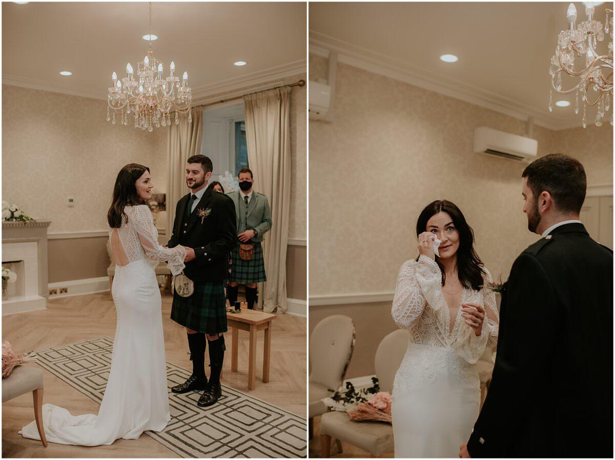 Edinburgh city chambers wedding - Edinburgh wedding photographer