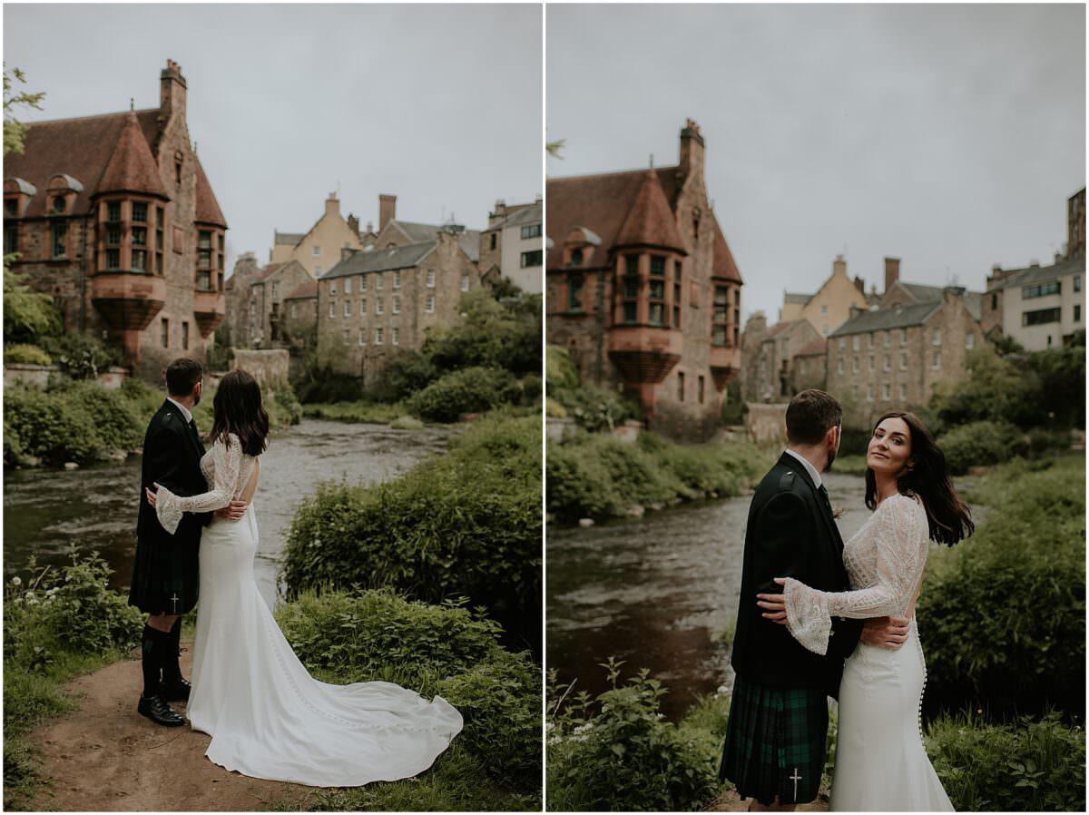 Edinburgh city elopement - micro wedding Edinburgh   Edinburgh elopement photographer