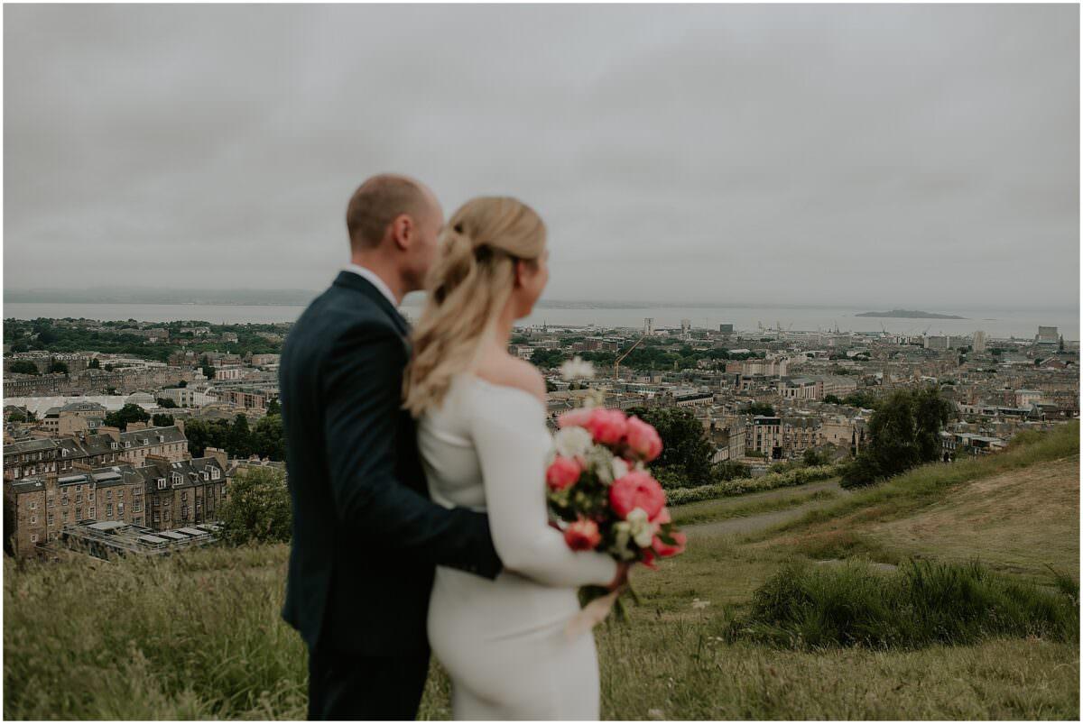 Edinburgh micro wedding - Edinburgh City Chambers wedding photographer