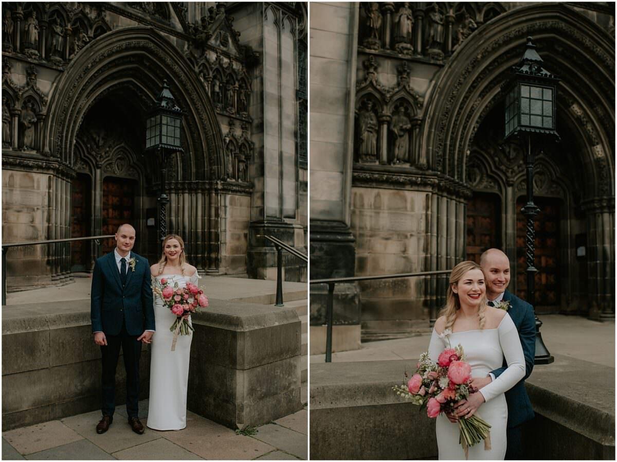 Edinburgh City Chambers micro wedding - Edinburgh wedding photographer
