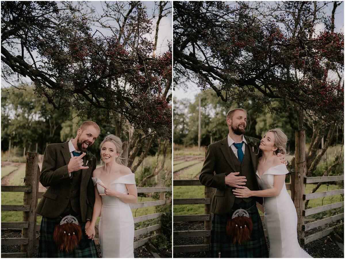 Wedding at the Free Company in Balerno - Edinburgh wedding photographer